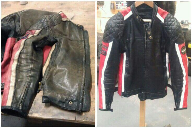 Leather Jacket Repairs - Leather Jacket Restoration