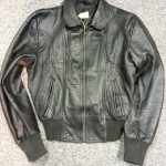 Leather Jacket Restoration Front After works were carried out and fully restored